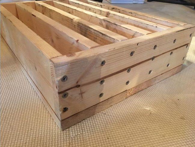 【自作】木製オリンピックプレートホルダー斜め横