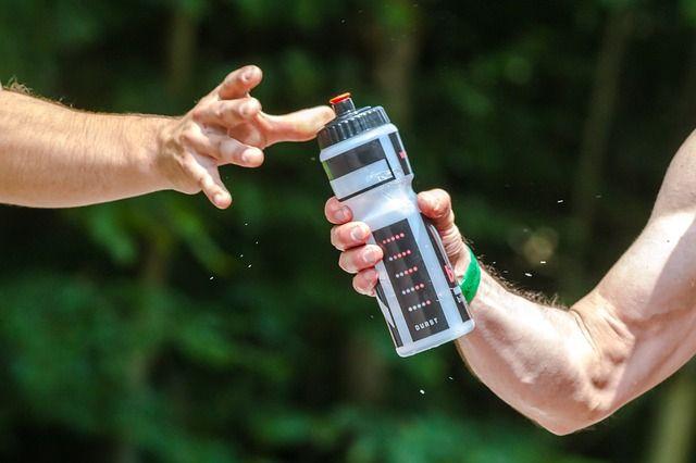 マラソン時の水分補給
