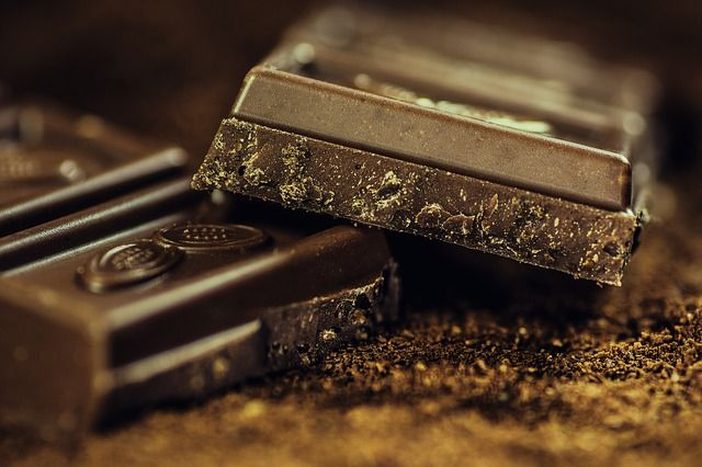 甘いチョコレート